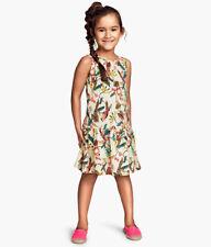 Vestiti multicolore per bambine dai 2 ai 16 anni 100% Cotone