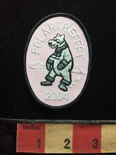 Biker Patch Polartreffet 2004 ~ Polar Bear (Norway ?) Motorcycle Club Event 60Z5