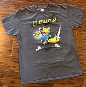 EUC Princess Bubblegum Zelda Finn Jake Link Crossover T-Shirt GeekBox Mens Med