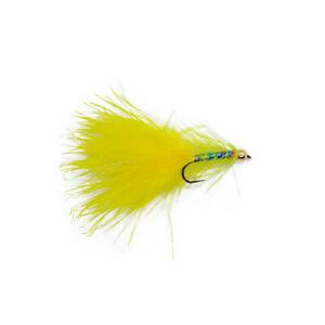 Yellow Dancer Barbless X3 Size 10 - Dragonflies
