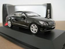 SCHUCO MERCEDES BENZ E CLASS COUPE 2009-2013 in BLACK 1/43 MODEL CAR