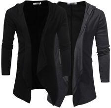 Men's Fashion Slim Fit Simple Comfortable Hoodies Jacket