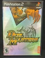 Duel Masters  PS2 Playstation 2 COMPLETE Game 1 Owner Near Mint Disc