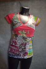 Top Sepia Style Pearl Tatoo Size 36/S T-Shirt/Maglia/Top Very Good Condition
