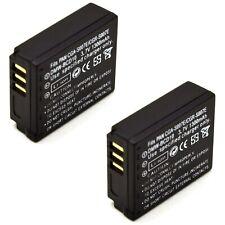 2x Battery for Panasonic Lumix DMC-TZ1 DMC-TZ2 DMC-TZ3 DMC-TZ4 DMC-TZ5 DMC-TZ11