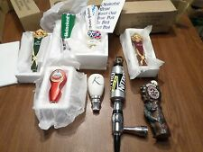 Beer Keg Tap Handle Lot of 8 New Mini Shotgun Dos Equis Newcastle Werewolf