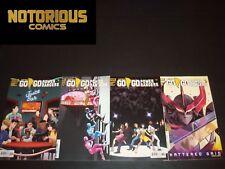 Go Go Power Rangers 5 6 7 8 Complete Comic Lot Run Set Comic Lot Shattered Grid