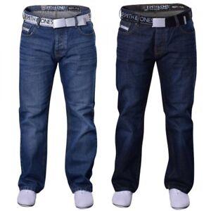 Mens Smith and Jones Bootcut Flared Wide Bottom Hardwearing Fashion Denim Jeans
