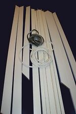 JAMB KIT 2 SETS OF ARCHITRAVES FOR SINGLE SLIDING POCKET DOOR SYSTEM 100 MM