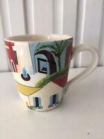"""Pier 1 Imports """"Small Town"""" coffee mug:  4"""" by 3.5"""""""