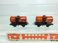 BR465-0,5# 2x TTR/Trix Twin Railway H0/DC Kesselwagen Shell Oil