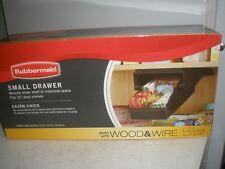 New Rubbermaid Small Drawer Mounts under Shelf
