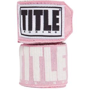"""Title Boxing Power-Flex Elite 180"""" Fist Wraps - Pink"""