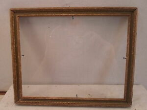 antique art deco picture frame, 7 by 9 inches,   # 888