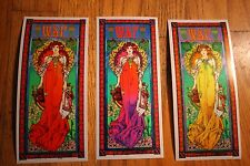 Widespread Panic 30th Anniversary Poster Bob Masse Handbill Set On Foil Paper