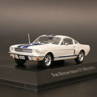 Ixo 1:43 Ford Mustang Shelby GT 350H 1965 Diecast Car Model Metal Toy