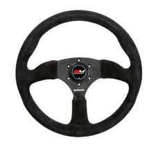 Motamec Semi Dish Steering Wheel 350mm - Black