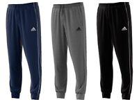 Adidas Core 18 Mens Fleece Tracksuit Bottoms Sweatpants Cotton Pants