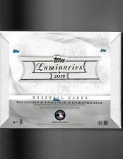 2019 TOPPS LUMINARIES BASEBALL HOBBY BOX FREE SAME DAY PRIORITY SHIPPING