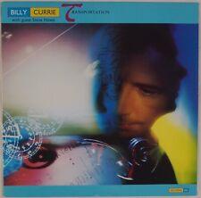 BILLY CURRIE: Transportation w/ Steve Howe (YES) Synth Pop LP NO SPEAK Promo
