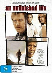 An Unfinished Life DVD R.REDFORD,M.FREEMAN,J.LOPEZ - RARE OOP Ex-Rental