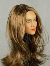 1/6 Phicen, Kumik, NT - Female Head Sculpt (Olivia Wilde) Alternate Version