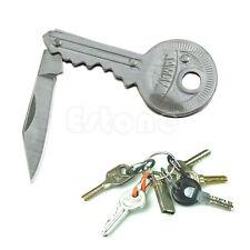 "New Portable Key Knife Folding Shaped Pocket 3.6"" Long Utility Blade Mini Peeler"