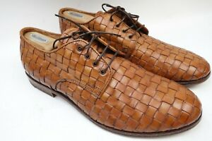 MOMA Leather Casual Shoes Men Size 12 US 46 EU Made In Italy