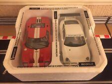 "Scalextric ""Original Top Gear Cars"" Porsche 911 GT3R & Ford GT Mint Condition"