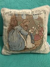 Vtg Beatrix Potter Accent Pillow�The Tale Of Peter Rabbit�~Fredrick Warne