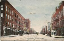 State Street Looking South From 8th in Erie PA Postcard 1910