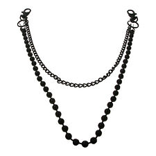 Double Large Ball And Medium Chain Stylish Gothic Punk Rock Jean Chain ZL5100-2