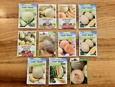 Cantaloupe Seeds / 10 Pack Variety