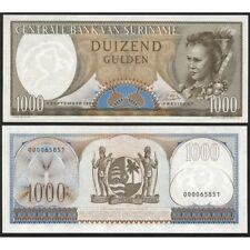 SURINAME  1000 Gulden 1963 UNC P 124