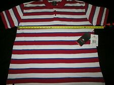 ENYCE 3XB 3XL Red White Short Sleeve Polo Shirt MSRP $35 Sweaters Hoodies & More