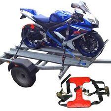Road Bike Rear Wheel Tie Down System Tyre Downs Strap Straps Motorbike TDTFTD