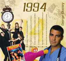23rd Birthday or Anniversary Gift - 1994 Compilation Pop CD and Greetings Card