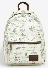 Loungefly Disney Winnie The Pooh Mini Backpack Hundred Acre Wood Map Bag