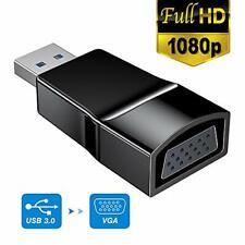 USB 3.0 to VGA Adapter, USB to VGA Video Adapter Converter, External Video Card,