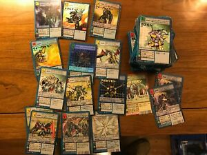 200+ Digimon Cards (Japanese) incl. Foils, Promos 1999-2005