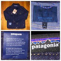 NWT Patagonia Women's Denim Dark Wash Iron Clad Jacket Size Small Style #27000