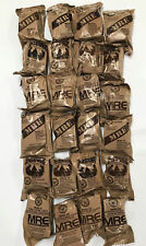 Military Food Rations Individual MREs Meals Ready to Eat Choose Menu 3/20 Inspec
