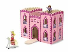 Melissa & Doug Fold & Go Princess Castle with Accessories Dolls House NEW