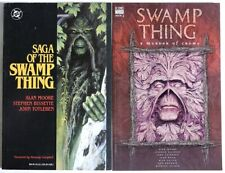 GEM1046. SAGA OF THE SWAMP THING & SWAMP THING: A Murder of Crows FIRST PRINTING