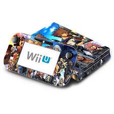 Skin Decal Cover for Nintendo Wii U Console & GamePad - Kingdom Hearts Final Mix