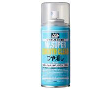 Mr.Hobby/Gunze B530 Mr.Super Smooth Clear Flat Spray (170ml) modellismo