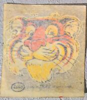 Genuine 60s 70s Esso Put A Tiger In Your Tank Window Sticker Decal NOS