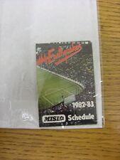 1982/1983 elenco di impianti: San Jose Earthquakes-Pagina quattro CARD. grazie per viewi