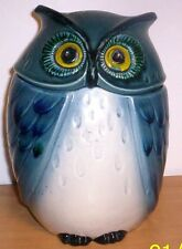 California--Metlox (Poppytrail) Blue Owl Cookie Jar
