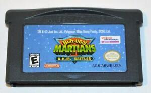 BUTT-UGLY MARTIANS: B.K.M. BATTLES NINTENDO GAMEBOY ADVANCE GBA SP GAME